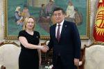 Президент КР Сооронбай Жээнбеков принял новых послов пяти стран — Таджикистана, Ирана, Исландии, Израиля и Словении