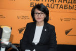 Улуттук банктын расмий өкүлү Аида Карабаева