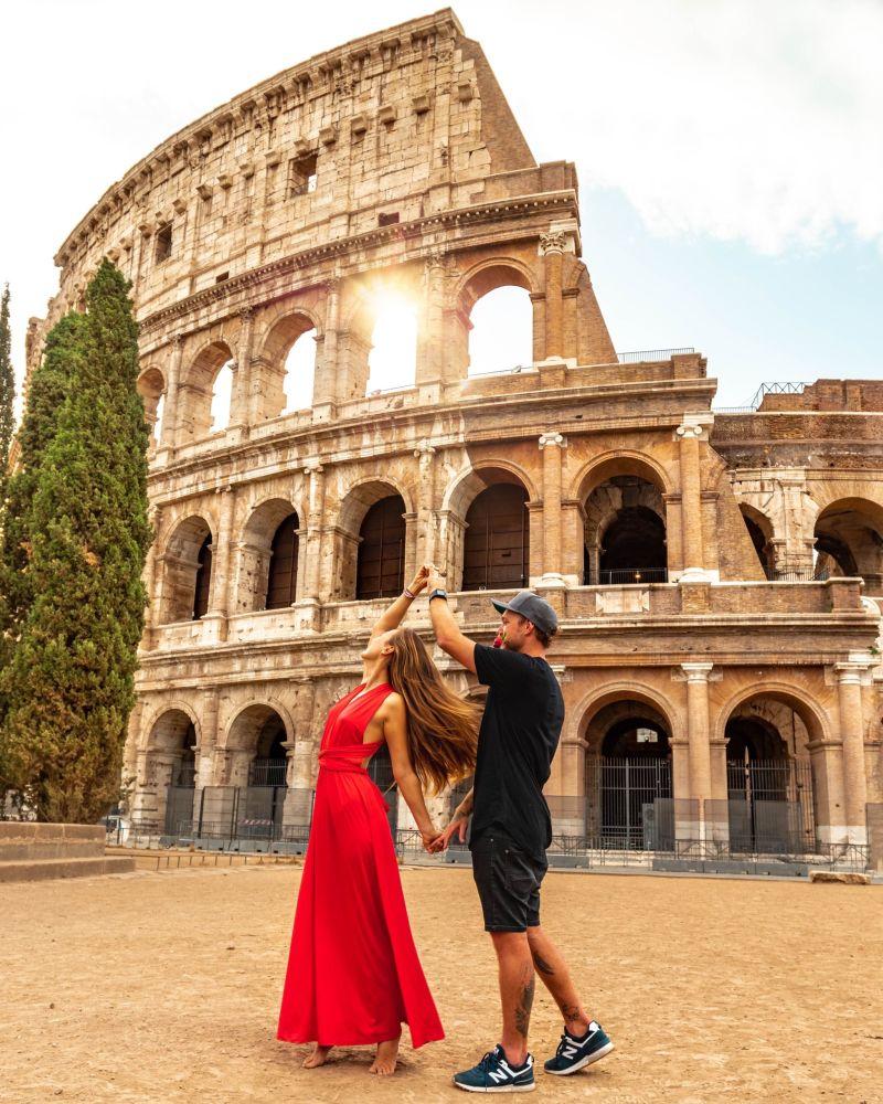 Снимок Рим, город любви фотографа из Чехии. Автор работы говорит, что это очень романтичный город.