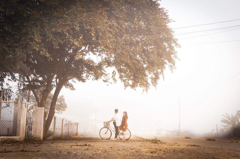 Снимок История любви фотографа из Вьетнама. Автор говорит. что хотел передать красота подростковой любви.