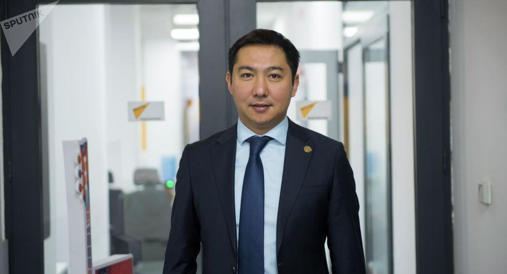 Маданият, маалымат жана туризм министри Азамат Жаманкулов. Архив