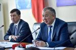 Первый вице-премьер-министр Кубатбек Боронов выступил на коллегии мэрии Бишкека об итогах социально-экономического развития столицы за 2019-й и задачах на предстоящий год