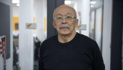 Главный тренер Федерации фехтования КР Нуртай Абдыл-Хамитов