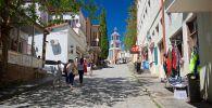 Туристы в одном из городов Грузии. Архивное фото