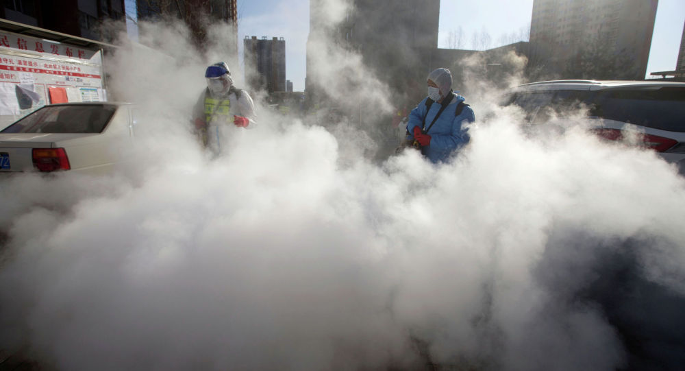 Кытайдын Шаньси аймагындагы коронавируска каршы иш-чаралар. Архивдик сүрөт