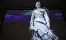 Ата Мекендик согушта катышкан жоокерлерге арналган мемориал. Архивдик сүрөт