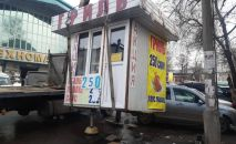 Снос незаконных объектов в Бишкеке