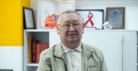 Жусуп Баласагын атындагы Улуттук университеттин профессору Каныбек Осмоналиев