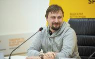 Руководитель редакции Р-Спорт МИА Россия сегодня, журналист, радиоведущий, продюсер Александр Калмыков на мастер-классе