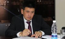 Директор Государственного агентства архитектуры, строительства и жилищно-коммунального хозяйства (Госстрой) Бактыбек Абдиев. Архивное фото