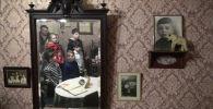 Школьники во время экскурсии в трехмерной панораме Память говорит. Дорога через войну. Архивное фото