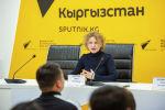 Заместитель руководителя экономического отдела МИА Россия сегодня Ирина Андреева на мастер-классе