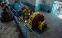 Гидроагрегатор в Лебединовской (Ворошиловская ГЭС), входящий ОАО Чакан ГЭС. Архивное фото