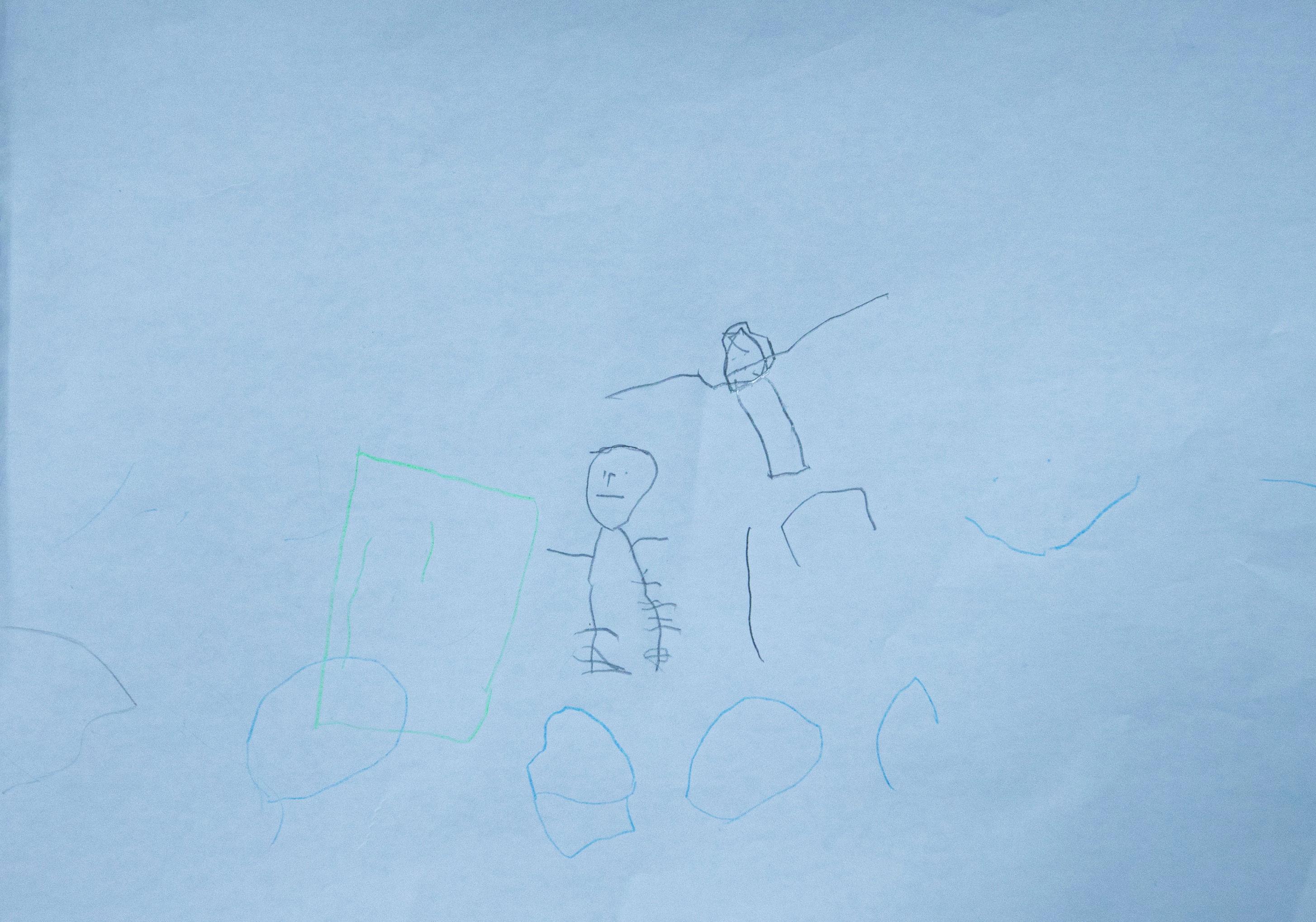 Рисунок пятилетнего мальчика