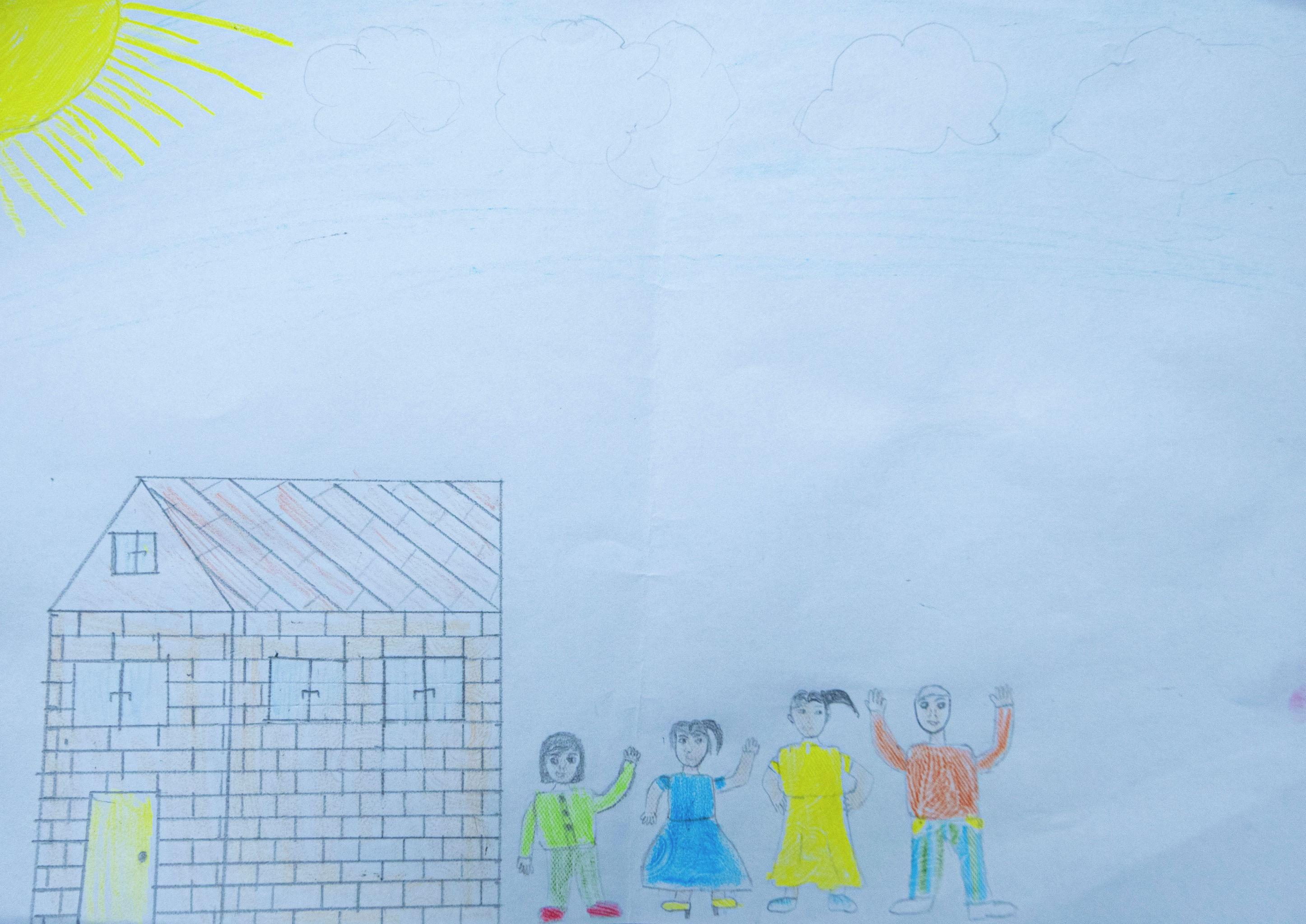 Рисунок десятилетнего мальчика