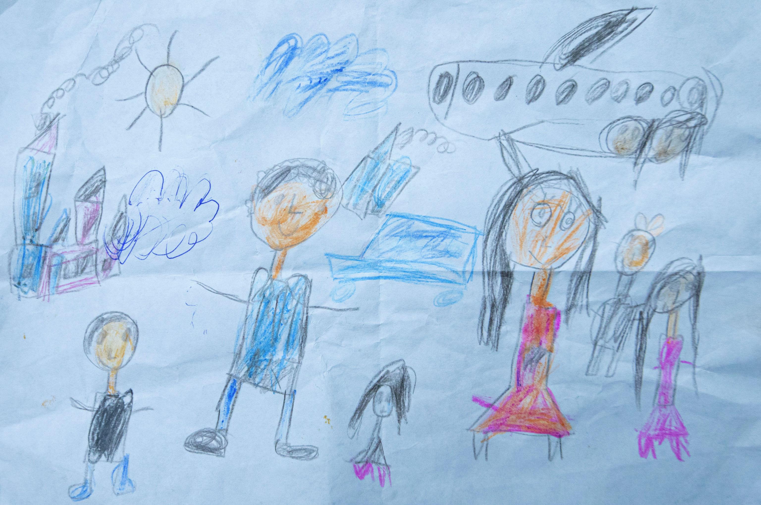 Рисунок шестилетнего мальчка