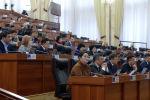 Депутаты Жогорку Кенеша на заседании