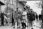 Вторая мировая война 1939-1945 годов. Освобождение советскими войсками узников немецко-фашистского концлагеря Аушвиц-Биркенау - Освенцим (Польша).