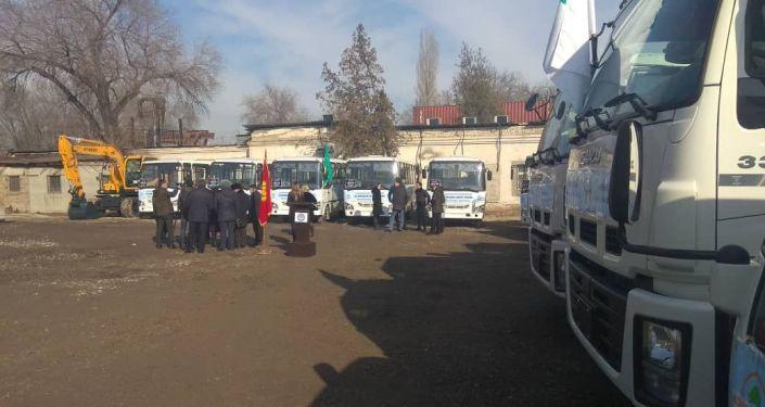 В Аламудунском айыльном аймаке одноименного района Чуйской области появился муниципальный пассажирский транспорт
