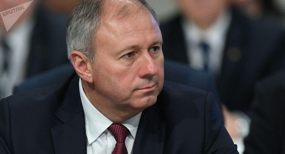 Архивное фото премьер-министра Белоруссии Сергея Румаса