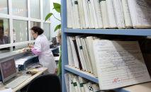 Ооруканадагы каттоо бөлүмү. Архивдик сүрөт