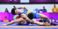 Борец из Кыргызстана Улукбек Жолдошбеков стал чемпионом Азии по вольной борьбе, выиграв в финале Мухамеда Икромова из Таджикистана.
