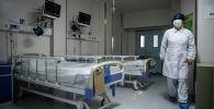 Коронавируска кабылган пациенттер үчүн атайын бөлмө. Архивдик сүрөт