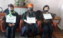 Кыргызстандын профсоюзчулары митингге чыгып, Профсоюздар федерациясынын төрагасы Мирбек Асанакуновдун кызматтан кетишин талап кылууда