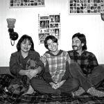 Известный режиссер Геннадий Базаров, его супруга Райва Тойгонбаева и их дочь Зуура, 1998 год, Бишкек