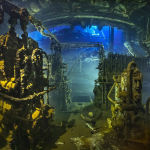 Снимок машинного отделения затонувшего в Красном море грузового судна Хрисула Кей принес Тобиасу Фридриху (Tobias Friedrich) победу в категории Обломки