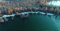 Аэрофотограф Михаил Дудин снял познавательное видео о Ала-Арчинском водохранилище в Чуйской области недалеко от Бишкека