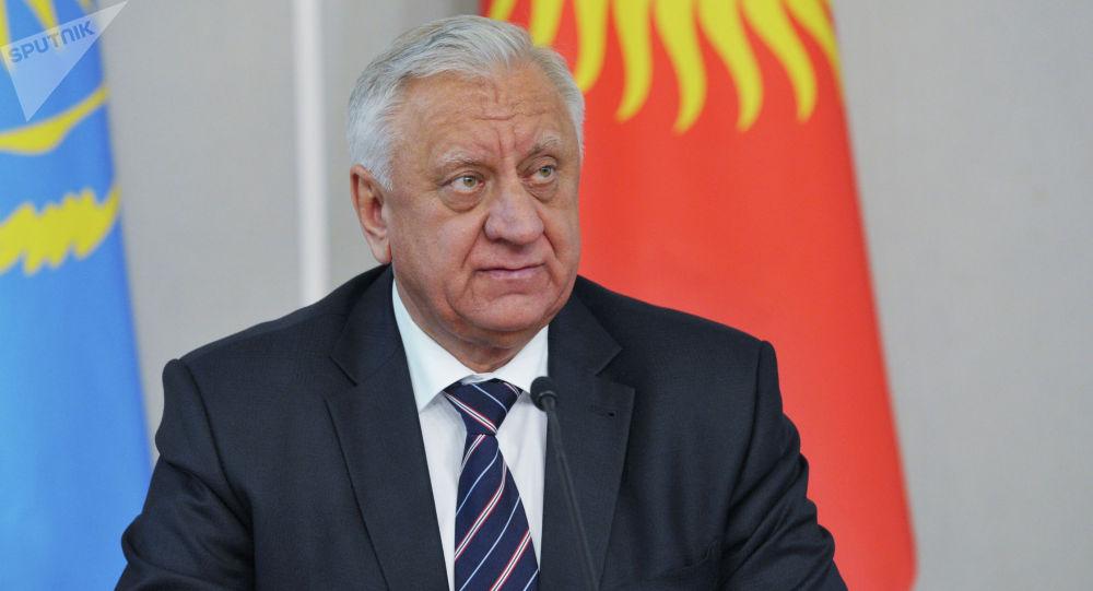 Председатель Коллегии Евразийской экономической комиссии Михаил Мясникович. Архивное фото