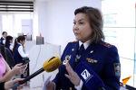 В Центре мониторинга проходит пресс-тур для представителей СМИ. Сотрудники ГУОБДД делятся информацией о работе проекта Безопасный город.