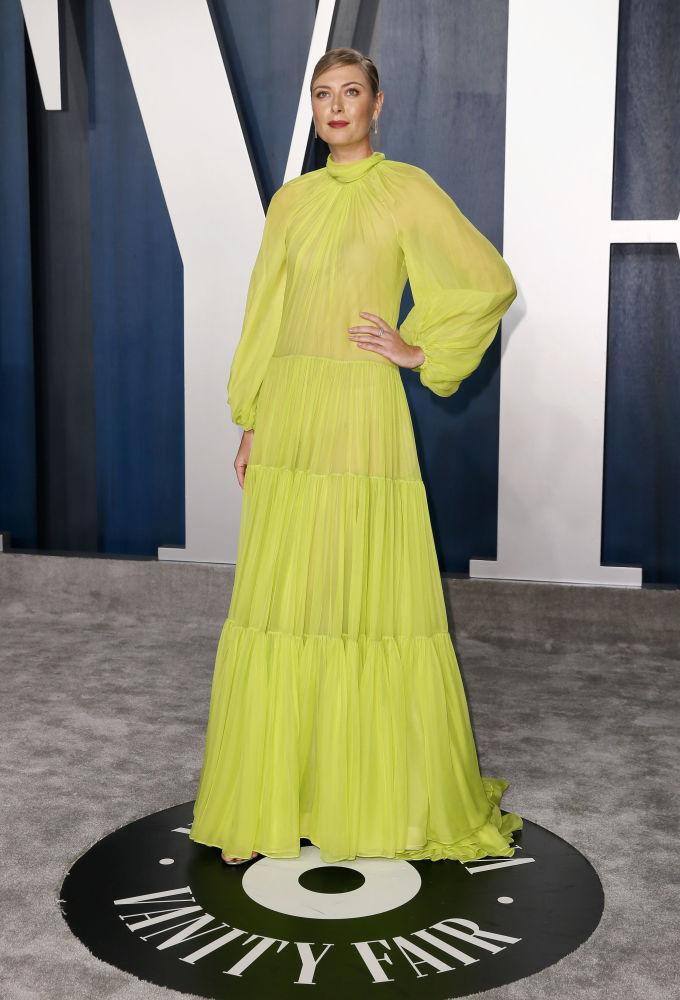 Мария Шарапова на Vanity Fair Oscar party, 2020 год