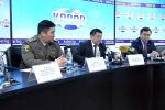В Бишкеке проходит пресс-конференция руководителей профильных государственных органов. Тема — меры профилактики коронавируса в стране.