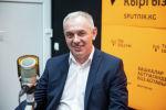 Директор центра Аналитик Андрей Мозолин на радиостудии Sputnik Кыргызстан