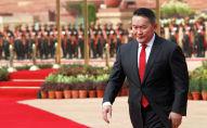 Президент Монголии Халтмаагийн Баттулга. Архивное фото