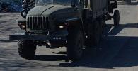 Военный грузовик. Иллюстративное фото