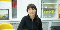 Жаштар үйү долбоорунун социалдык кызматкери Бейбитгүл Алиева