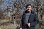 Животновод и земледелец Константин Якименко у себя на ферме в селе Петровка Московского района