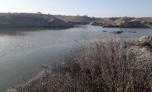 Река Аламедин в Чуйской области