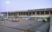 Эл аралык аэропорт Манас. Архив