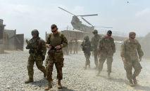 Американские военнослужащие на оперативной базе в восточной провинции Нангархар (Афганистан). Архивное фото