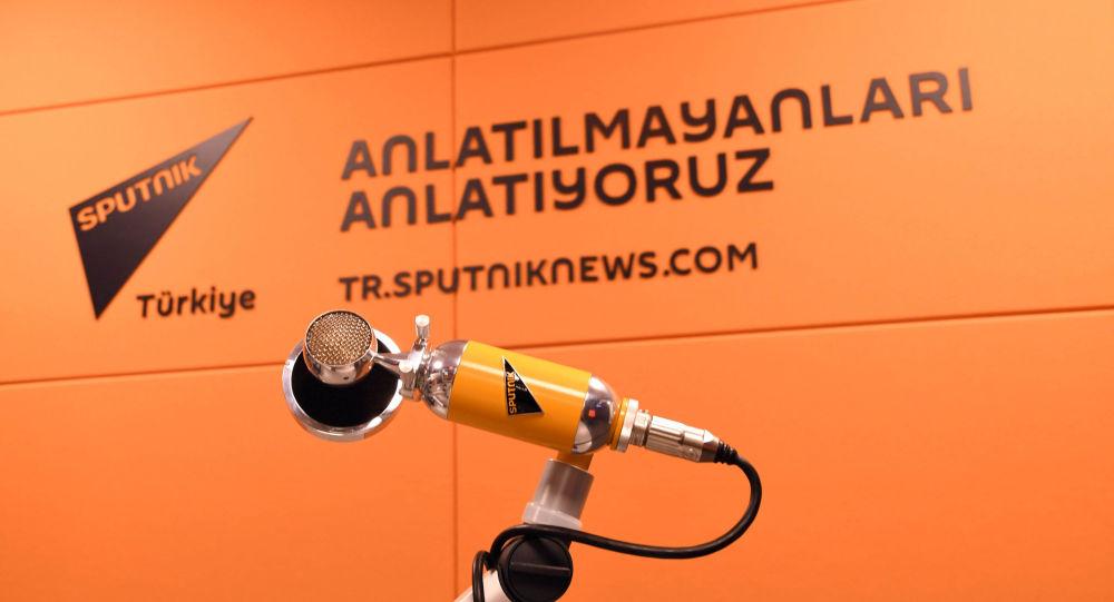 Радиостудия информационного агентства Sputnik Турция