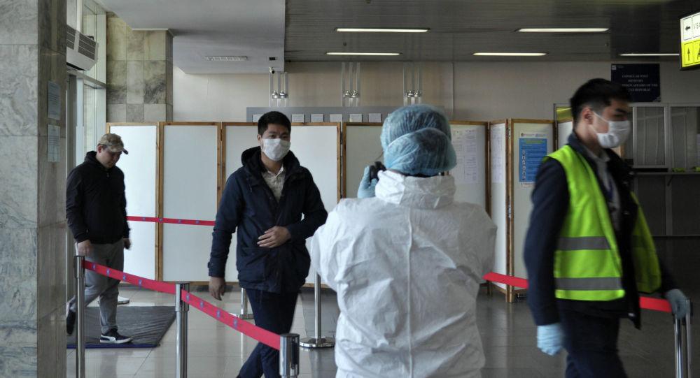 Аэропорт Манас. Архивное фото