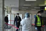 В аэропорту Манас провели учения на случай выявления человека с особо опасной инфекцией