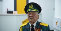 Улуу Ата Мекендик согуштун ардагери, жазуучу жана коомдук ишмер Асек Урманбетов