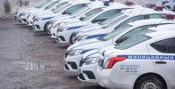 Служебные автомобили ГУОБДД. Архивное фото
