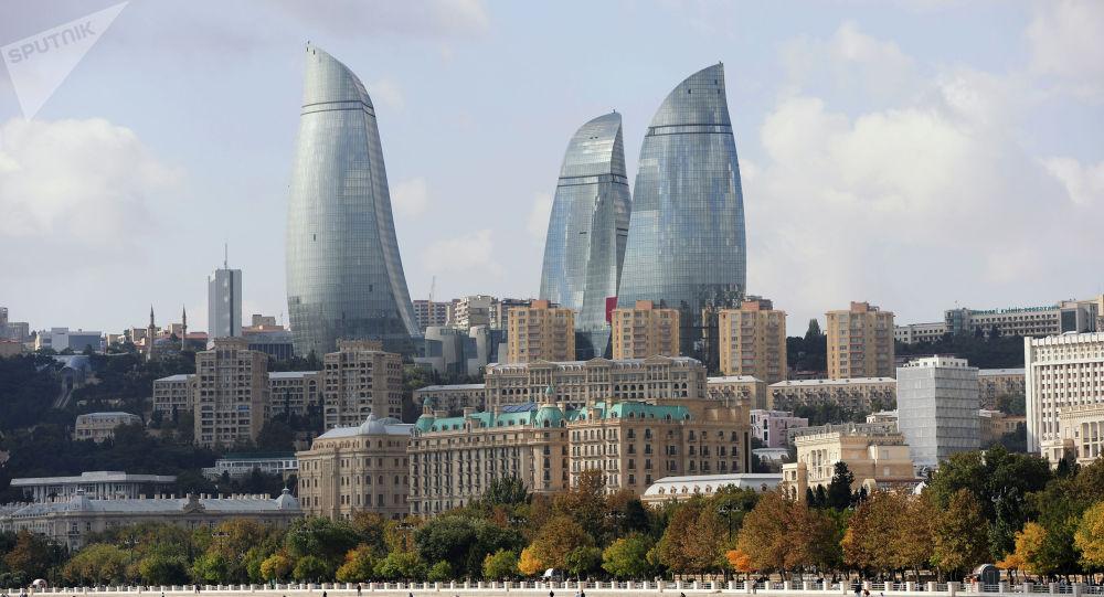 Баку шаары. Азербайжан. Архив