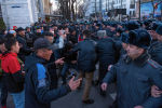 Садыр Жапаровдун тарапташтарынын Бишкектеги митинги
